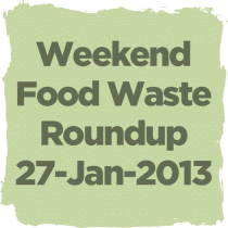 Recent articles on food waste.
